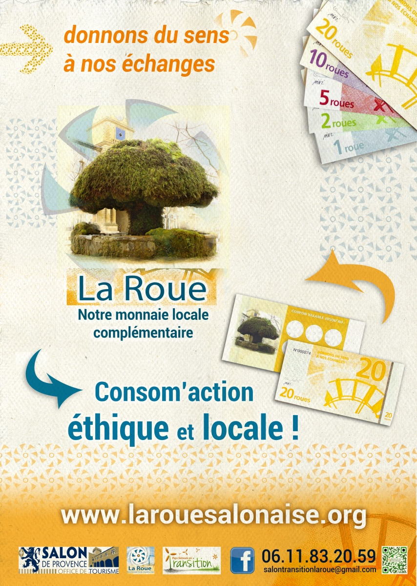Association monnaie en pays salonais la roue monnaie for Mission locale salon de provence